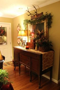 Ideas About Cottage Christmas Decorating On Pinterest Christmas