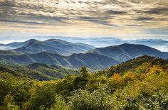 autumn blue ridge parkway
