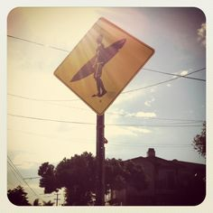 .:street sign in Encinitas, CA..home sweet home:.