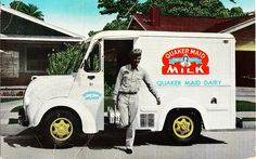 Divco Quaker Maid Milk Delivery Van