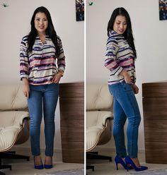 cute & little blog   petite fashion   blue jean bar express review   alpine stars wrap top, modern saints jeans