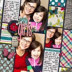the Girls - Scrapbook.com