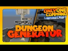 Minecraft - Dungeon Generator | Only One Command! | No Mods! (Vanilla) - YouTube