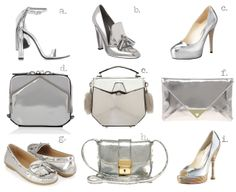 Everything #silver #fancy #mixnmatch #fashion #LFW