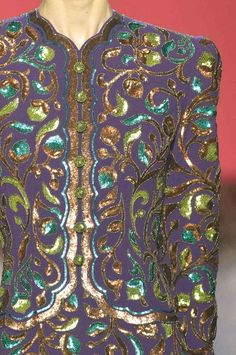 """patternprints journal: PRINTS, PATTERNS AND DETAILS INTO """"COUTURE"""" WOMAN COLLECTIONS FALL/WINTER 2014-15 / Schiaparelli"""
