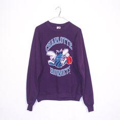 2e3d59c36dc #vintage Charlotte Hornets Sweatshirt Charlotte Hornets, Dusty Rose, Vintage  Men, Must Haves
