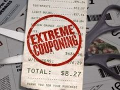 Guilty Pleasure # 2; extreme couponing