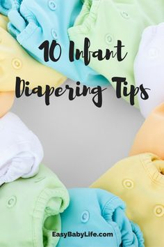 Diapering tips | diapering 101 | how to diaper a baby | baby care tips | newborn baby | new mom | how to put on diaper