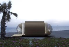LOVE!! The DROP Eco-Hotel is a Portable Prefab Pod Home for the Modern Nomad