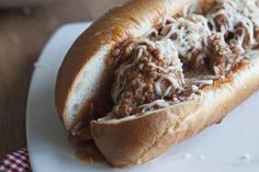 Emergency Meatball Sub Dinner Recipe