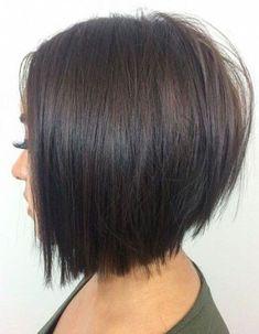 Cute Bob Haircuts, Bob Hairstyles For Thick, Bob Hairstyles For Fine Hair, Hairstyles Haircuts, Braided Hairstyles, Casual Hairstyles, Pixie Haircuts, Medium Hairstyles, Hairstyle Ideas