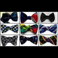 Trendy bowties $9.99 Email constantbeau@yahoo.com for all inquires and invoice. Also visit us on fb-constantbeau or IG-constantbeau
