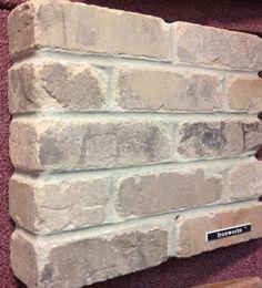 CBC sells: Ironworks Thin brick Family Room Fireplace, Brick Fireplace, Concrete Floors, Hardwood Floors, Flooring, Thin Brick, Charleston Homes, My Dream Came True, Backsplash