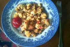 DELISH Vegan, SOY-FREE, Breakfast idea:  Chickpea Scramble | VegWeb.com, The World's Largest Collection of Vegetarian Recipes.