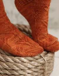 Knit Socks Pattern - Free Craft Patterns at WomansDay.com - Woman's Day