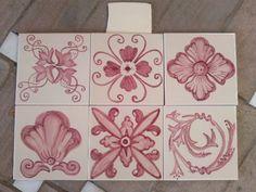 Las 14 Mejores Imagenes De Isabel Gan Azulejos Pintados A Mano