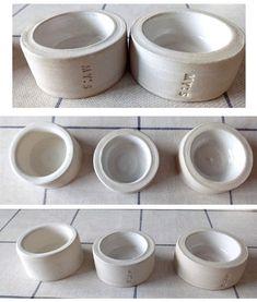 För värmeljus med texten MY:S Dog Bowls, Homemade, Home Made, Hand Made