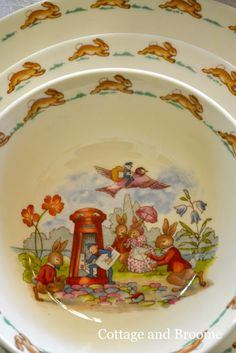 nothing is sweeter than Bunnykins, either i or one of my siblings had this plate