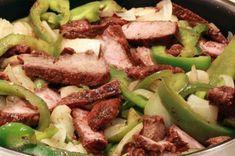 A very yummy recipe.. Steak or Chicken Fajitas Recipe from Grandmothers Kitchen.