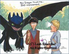 Leah Rosenthal Merlin cartoon - I didn't know she did Merlin! Dirk Gently, Artemis Fowl, Bbc Tv Series, New Dragon, Geek Humor, Book Tv, Anne Of Green Gables, Stargate, Sci Fi Fantasy