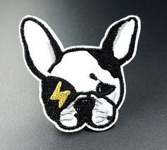 DOG Iron On Patch Sewing On Embroidered Applique Badges Clothes Stickers Garment Apparel Accessories P Sew On Patches, Iron On Patches, Womens Luggage, Tactical Vest, Clothing Patches, Eco Friendly Fashion, Decoration, Bag Accessories, Dekoration
