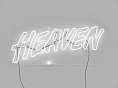 heaven neon sign //pinterest: juliabarefoot