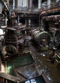 centrale électrique abandonnée - Okunoshima (Japon) - 2