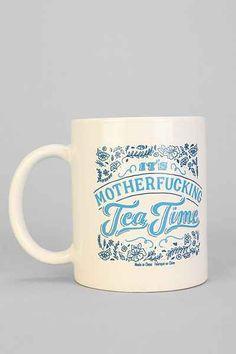 Its Tea Time Mug - Urban Outfitters
