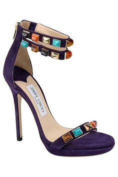 Jimmy Choo Rich Style Jeweled Sandal #Shoes #Heels #Crystals