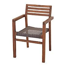 CANVAS Teak Patio Dining Chair