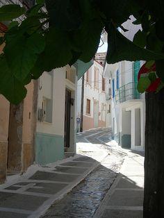 Alley in Kokkari village, Samos island, east Aegean sea, Greece Beautiful World, Beautiful Places, Samos Greece, Skiathos Island, Thasos, Vacations To Go, Greece Islands, Greece Travel, Places To Travel