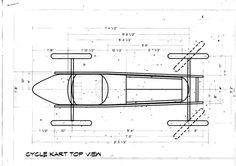 CycleKart Plans & Drawings Thread (Page : CycleKart Tech Forum : CycleKart Forum : The CycleKart Club Soap Box Derby Cars, Soap Box Cars, Soap Boxes, Bugatti, Homemade Go Kart, Reverse Trike, Drift Trike, Plan Drawing, Pedal Cars