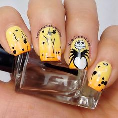 DIY halloween nails: DIY Halloween nail art : Halloween Nail Art Designs