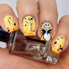 DIY halloween nails: DIY Halloween nail art : Halloween Nail Art Designs