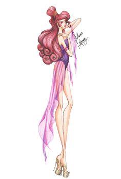 Princesas Disney Fashion - Just Lia Disney Fan Art, Style Disney, Disney Princess Fashion, Gif Disney, Disney And Dreamworks, Disney Love, Disney Magic, Princes Fashion, Megara Disney