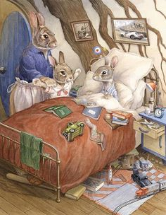 """pagewoman: """" Little Visitor by Chris Dunn """""""
