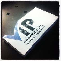 New business cards...