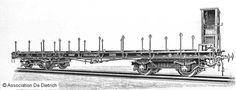 4-achsiger Plattformwagen, Reichseisenbahnen Elsass-Lothringen SSml 24095…