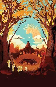 Studio Ghibli Fanart Wallpaper