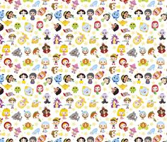 Storybook White fabric by id_designs on Spoonflower - custom fabric