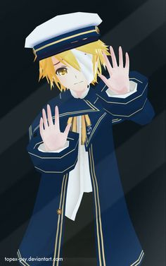 MMD OLIVER Vocaloid Let Me Out Android Wallpaper by topex-psy