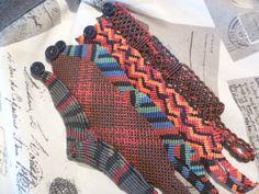 macrame bracelets