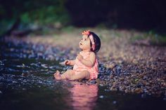 stream, water, magical, little girl, Lisa Karr Photography, Beloit Wisconsin, Find on Facebook