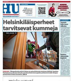MLL:n Uudenmaan piiri kampanjoi uusien perhekummien löytämiseksi. Helsingin Uutisten uutispääsivu 23.10.
