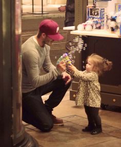 D.Becks in a Phillies hat playing with Harper and a bubble gun... I die.