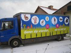 Dierennood - Opvallende reclame voor dieren in nood.