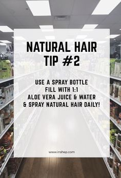 Natural Hair Tip #2 #naturalhair #naturalhairtips click for 13 more!