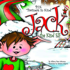 """""""Jack the kind Elf"""" Get ready for a new Christmas tradition the whole family will LOVE!  Follow our sweet Elf Jack as he sets out to teach his child friend that Christmas is so much more than presents and bows: the real joy is in the giving.  Then join Jack in his """"Elf Assignments"""" as you and your family take giving, love, and JOY to the streets and spread Christmas cheer like only you can!"""