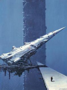 sci-fi art http://ift.tt/1EVldyJ