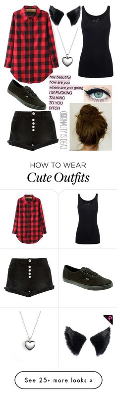 """""""My outfit for today"""" by ur-simply-unique on Polyvore featuring Juvia, River Island, Pandora and Vans"""